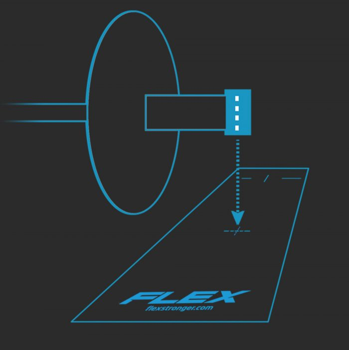 FLEX Reflective Mat Position